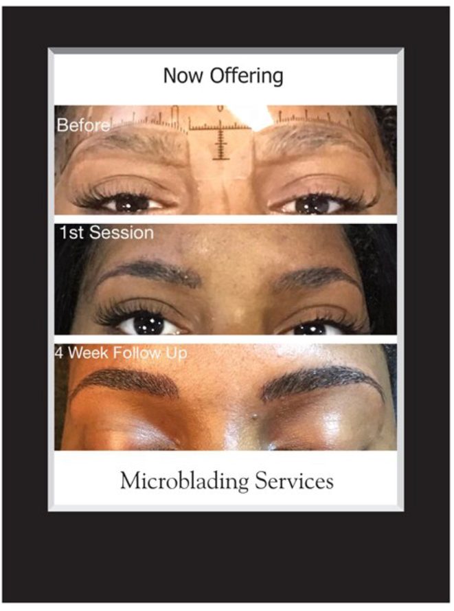 Fort Worth microblading is available at Salon & Spa Galleria